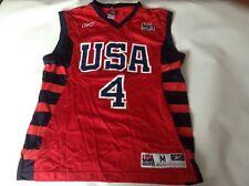 Da Uomo Adulto ORIGINALE Team USA Basketball Jersey Canotta Taglia Media in buonissima condizione Iverson