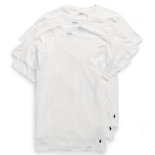 e9488b51948d0 Polo Ralph Lauren 4684 Mens White 2pk Classic Fit Crew T-shirt Set XL BHFO