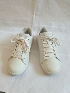 Genuine/ Ralph lauren trainers snickers size 4 or eu 36. White and pink.