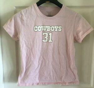 DALLAS COWBOYS ROY WILLIAMS WOMENS T SHIRT REEBOK NFL LADIES PINK LARGE