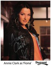 Annie Clark Signed Autographed 8 1/2 x 11 Photo Canadian Actress Degrassi Fiona