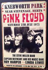 Pink Floyd Vintage Retro Tin Metal Sign Plaque Home Decor Studio Pub Garage Room