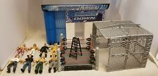 WWE 3.75'' FIGURE AND RING LOT
