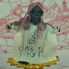 Scary Shroud Magic Statue Spirit Prai Ghost THAI OCCULT SORCERY Gambling Amulet
