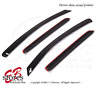 Smoke Tinted Out-Channel Vent Visor Deflector 4pcs For 2007-2012 Dodge Caliber