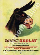 Beck Odelay LP Advert