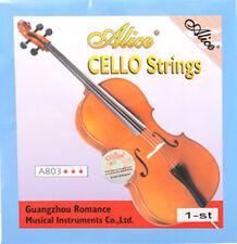 Alice Cello A String A803 Steel Core White Bronze Wound 1st String