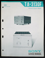 Sony ta-3130f Original Stéréo AMPLIFIER/AMPLIFICATEUR service-manual/Diagram o146