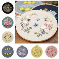 DIY Ribbon Embroidery Practice Kits Floral Needlecraft Material DIY Wall Decor