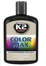 Black Color Max Car Paint Polish Colour Restorer Cover Scratches Enhance Lustre