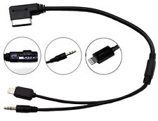 CT29AU09 VW MMi MDi charge and play iPhone cable RNS510 RNS315 RCD310 Premium 8