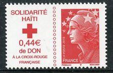 STAMP / TIMBRE DE FRANCE  N° 4434 ** MARIANNE DE L'EUROPE SOLIDARITE HAITI