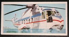 Sikorsky S61   Chicago Helicopter Airways  Vintage 1960's Card # VGC