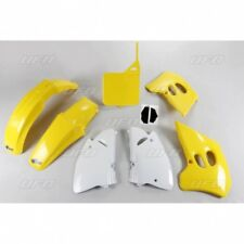 New Suzuki EVO RM 125 250 1993 93 Yellow White Plastic Kit Plastics