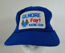 Gilmore Foyt Racing Team Collector Snapback Hat Indianapolis 500 IndyCar Coyote