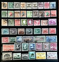 ICELAND Stamp Collection Many Classics Used 2 Pages