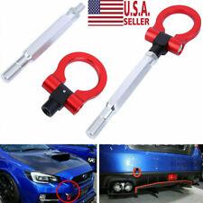 For Subaru WRX & STI & BRZ Customized Red Track Racing CNC Aluminum Tow Hook