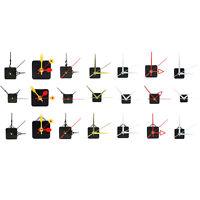 Quiet Mute Sounds Hand Quartz Clock Movement Mechanism DIY Repair Tool Parts Kit