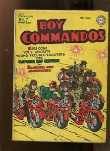 BOY COMMANDOS #7 (3.0) CAPTAIN RIP CARTER! 1944