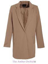 Polyester Popper Coats & Jackets Blazer for Women