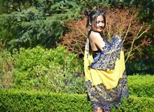 Luxury Pure Australian Wool Shawl Large Scarf Wrap Embroidery Wedding Gown