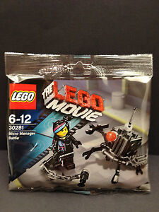 LEGO Movie 30281 Micro Manager Battle & Wyldstyle / New Condition Polybag