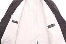 "HUGO BOSS BLACK PINSTRIPE ""BERTOLUCCI/MOVIE"" CERRUTI WOOL SUIT 40L DRY-CLEANED"