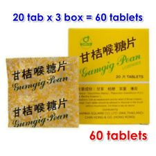 Gumgig Pean Herbal Lozenges Expectorant for Cough Sore Throat (60 Tablets)