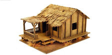 Extrême-Orient Tissé Bas habillent style maison de village échelle 1/72nd 20 Mm Laser Cut MD...
