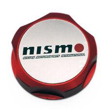 1Pcs Car Luxury Nismo Racing Oil Filler Cap Fuel Tank Cover Aluminum Nissan Red