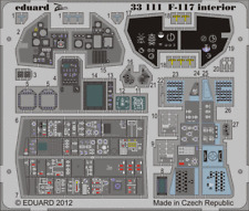 EDUARD ZOOM 33111 Interior S.A. for Trumpeter® Kit F-117 in 1:32