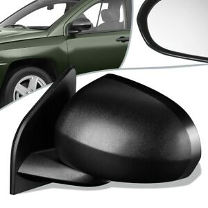 Fit 07-17 Jeep Compass OE Style Manual Side View Door Mirror Left/LH CH1320266