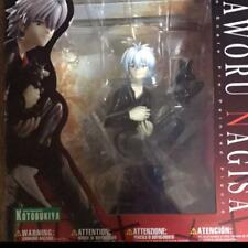 Kotobukiya Evangelion Figure Nagisa Kaworu with Black Cat Anime Goods Toy