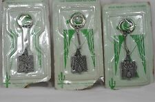 Vintage Southwest Indian Foundation Thunderbird 4 Key Chains Gallup, New Mexico
