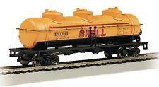 Bachmann N 40' 3 Dome Shell Oil Tank Car 70184