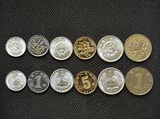China sets of coins. 1, 2, 5 FEN. 1, 5 JIAO. 1 YUAN UNC. 6PCS Random age.