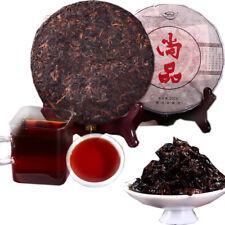 Ripe Puer Tea Cake Yunnan Brown High Mountain Ecological Pu erh Cooked Tea 200g
