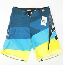 Billabong Mens Conquer Boardshorts Blue Combo 32 New