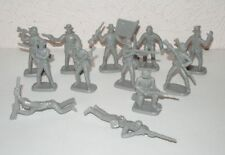 Hing Fat DGN American Civil War Confederate infantry. 1/32 Plastic toy soldiers