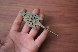 Vintage Brass Arabic Islamic Perfume Bottle Or Eyeliner Container Kohl stick