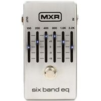 MXR M109S 6-Band EQ FX Pedal for Electric Guitar