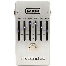 MXR M109S 6-Band EQ FX Effects Pedal for Electric Guitar
