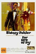 For Love Of Ivy (1968) - As New DVD