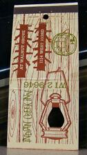 Vintage Matchbook Cover T5 Rare Knothole Walnut Grove Missouri Indian Lantern