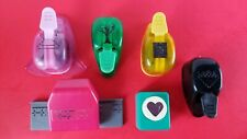 Lot Of 6 Punches EK Success And Carl Paper Stamps Scrapbooking