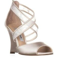 Zip High (3 in. and Up) Satin Sandals & Flip Flops for Women