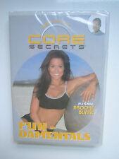 Core Secrets - Brooke Burke - Fun-Damentals -  Gunnar Peterson - NEW SEALED  DVD