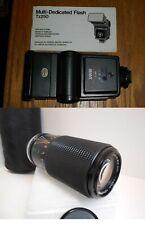 Flash & Zoom Lens Combo Sakar TZ250 Multi-Dedicated Zykkor 80-200mm + xtras B-3