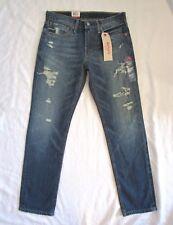 Levis Men 511 Distressed Blue Jeans Slim Straight 31W 30L 31 x 30 NEW w tags