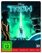 Tron: Legacy (2D+3D) - Steelbook - NEU & OVP!